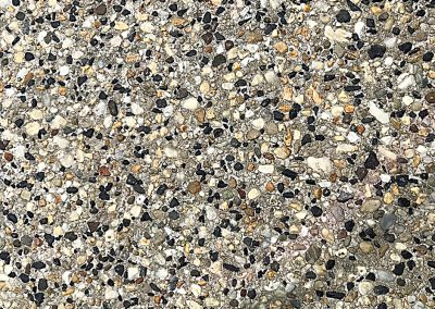 Exposed Aggregate & Poured Concrete